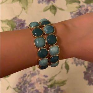Ann Taylor blue stone bracelet